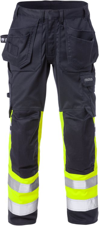 Flamestat High Vis Stretch-Handwerkerhose Damen, Kl. 1 2171 ATHF