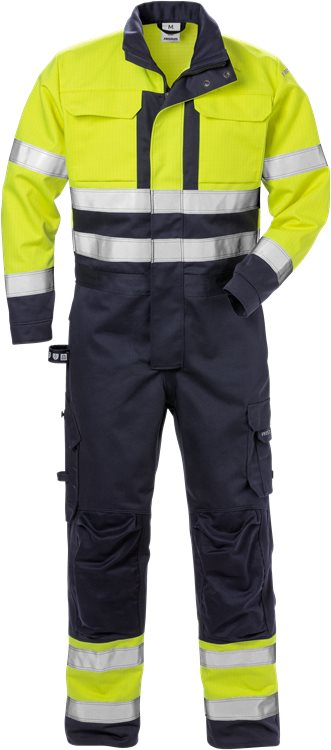 Flame High Vis Overall Kl. 3 8084 FLAM