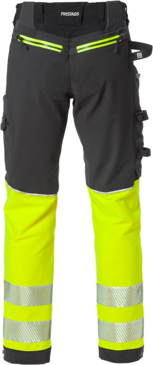 High Vis Stretch-Handwerkerhose Kl. 1 2568 STP
