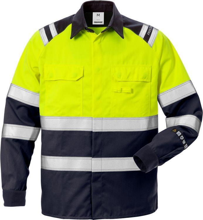 Flamestat High Vis Hemd Kl. 1 7051 ATS