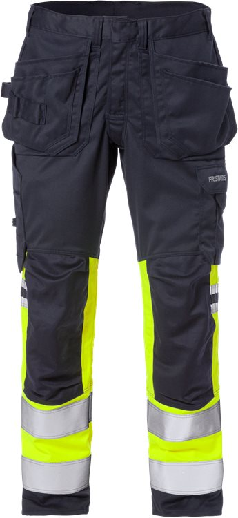 Flamestat High Vis Stretch-Handwerkerhose, Kl. 1 2163 ATHF