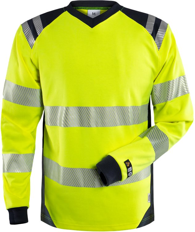 Flamestat High Vis T-Shirt, la Kl. 3 7359 TFL